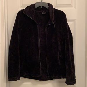32 Degree Heat Black Fuzzy Jacket